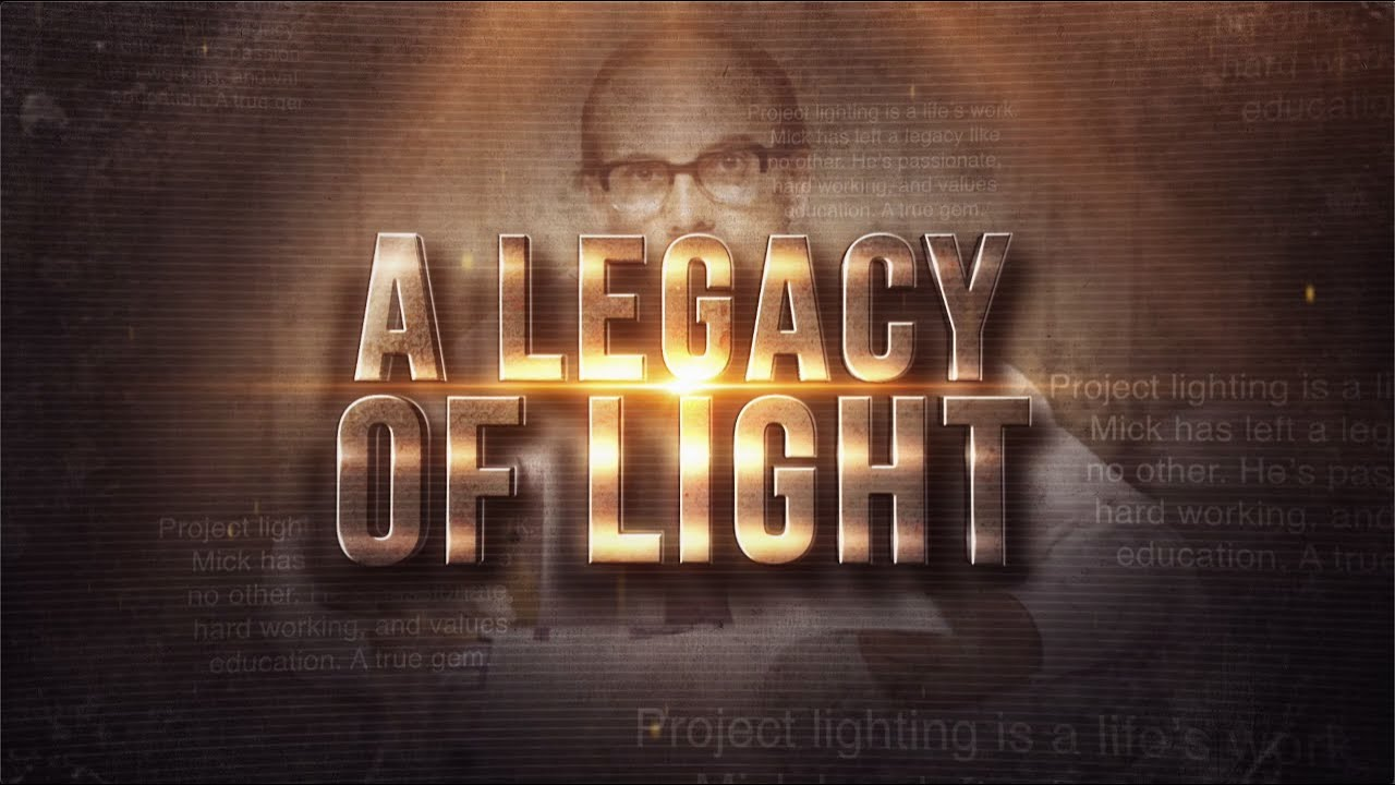 Mick Hogg A Legacy Of Light Project