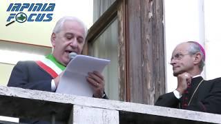Alzata del Pannetto 2017, il discorso del Sindaco Paolo Foti e del Vescovo di Avellino Arturo Aiello