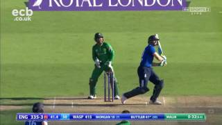 16 sixes in an ODI - An England record!