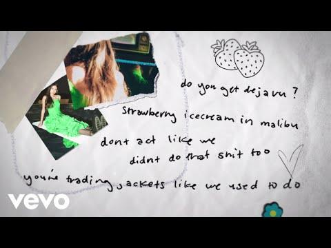 Olivia Rodrigo - deja vu (Lyric Video)