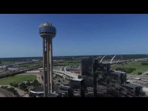 Dallas, Texas Skyline - Drone Aerial