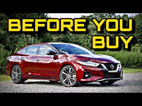 2019 Nissan Maxima - Bargain Luxury 4 Door Sports Car? (Platinum Reserve Trim Review)