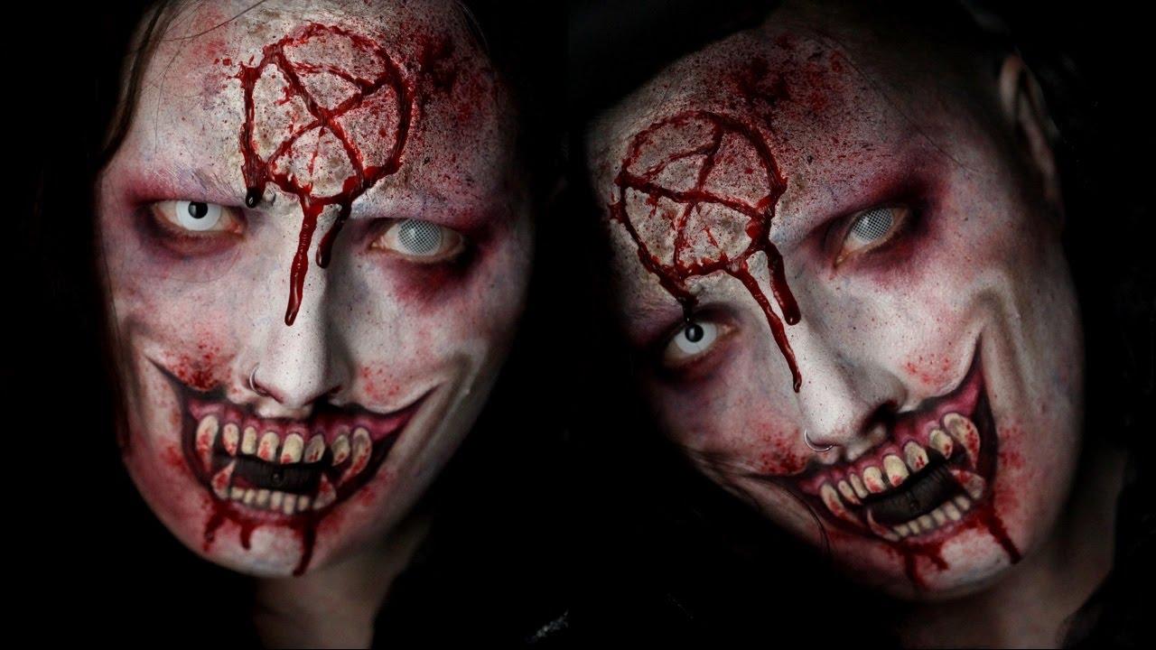 Vampire Special FX Halloween Makeup Tutorial - YouTube