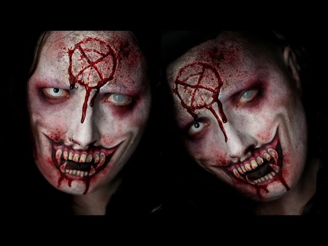 Vampire Special FX Halloween Makeup Tutorial