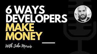 Contract work isn't the only way you can make money. here's several ideas to turn your coding skills into income: 1. blogging 2. information products 3. yout...