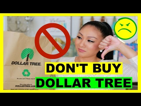 WORST DOLLAR TREE PRODUCTS! DON'T BUY!