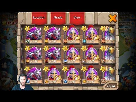 Rolling 26000 Gems For LiL Nick + Medusa Android BazaaR Castle Clash