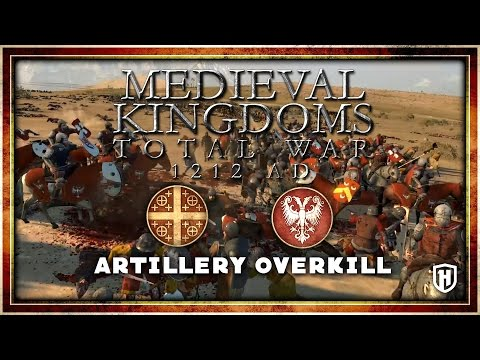 ARTILLERY OVERKILL! | Latin Empire v Principality of Serbia - 1212 AD Mod Gameplay