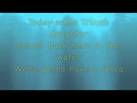 Down to the Sea - The Little Mermaid 2 (LYRICS)