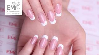Workshop nail extension and french manicure. Part 1