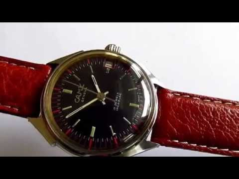 Camy vintage men's wristwatch 17 jewels