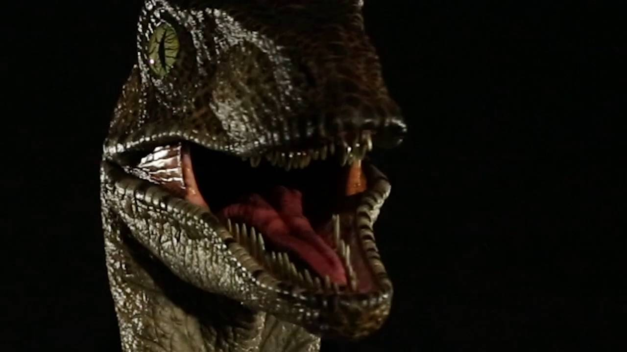 Put This 1200 Jurassic Park Velociraptor Head In Your Front Hall