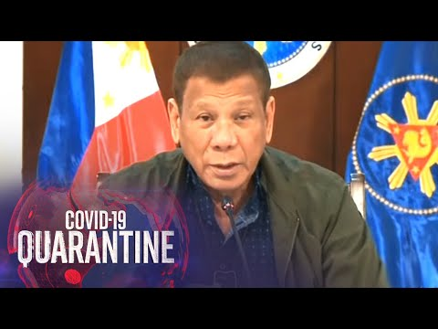 President Duterte addresses the nation (8 July 2020) | ABS-CBN News
