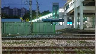 코레일 8500호대 화물열차 화서역 통과