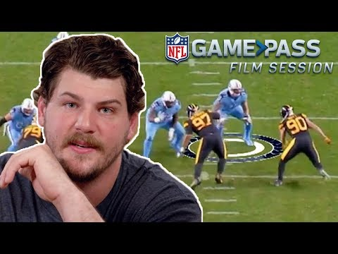 Taylor Lewan Breaks Down Blocking The Watt's, Proper O-Line Technique, & More!   NFL Film Session