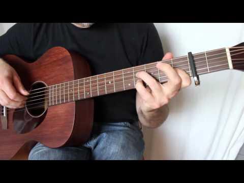 Sigma 000M-15 Sound Demo (Fingerstyle)