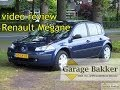 Video review Renault Mégane 1.6 16v Authentique Comfort, 2003, 65-LR-XS