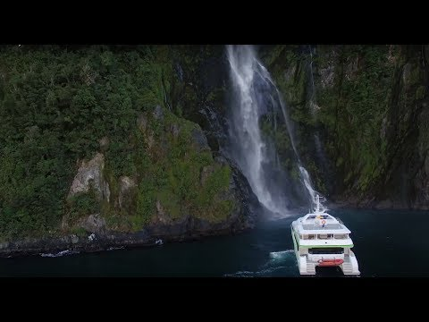 A luxury cruise in the Milford Sound with JUCY