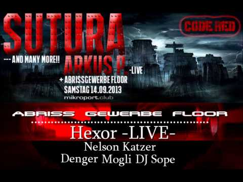 Arkus.P live @ MIkroport Club 14.09.13  Code red