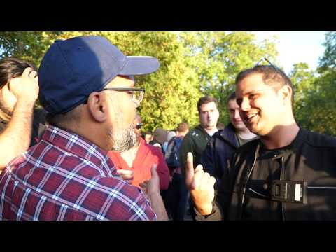 P1 - But Why! Hashim Vs Visitor | Speakers Corner | Hyde Park