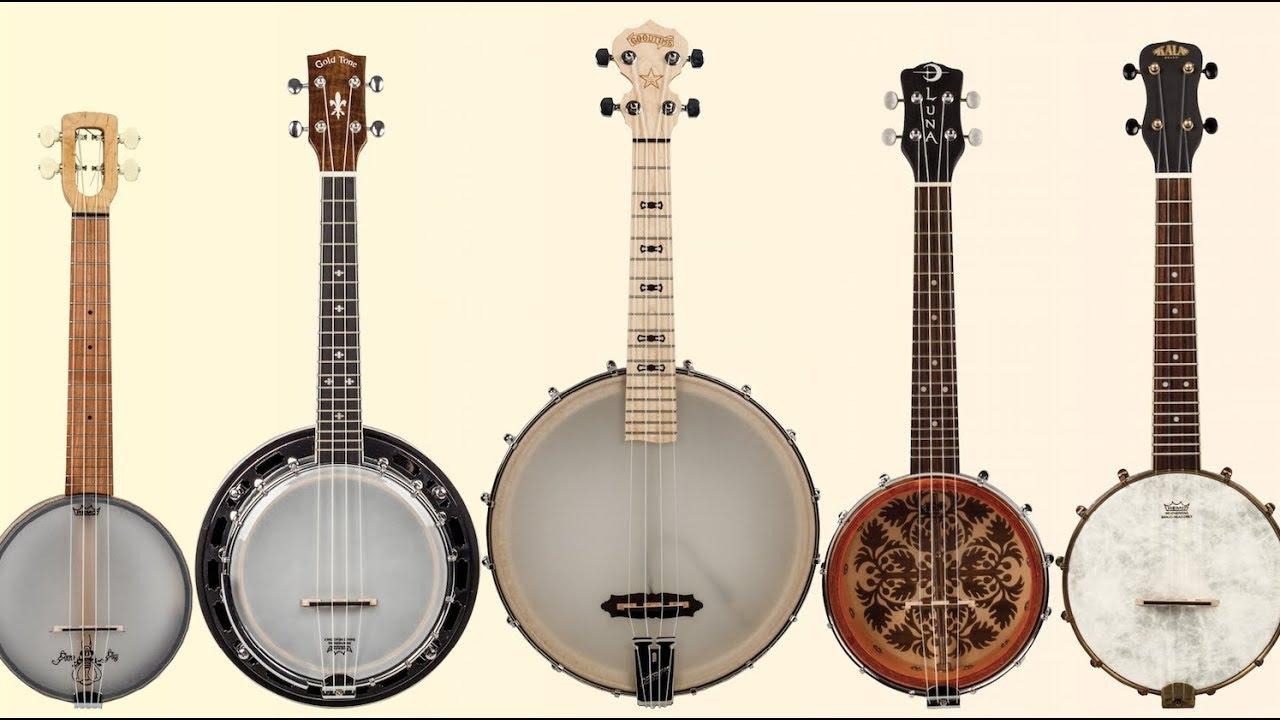 Review: Banjo Ukes from Deering, Kala, Luna, Gold Tone, and Magic Fluke