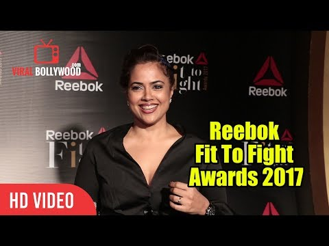 Sameera Reddy At Reebok Fit To Fight Awards 2017 | Viralbollywood
