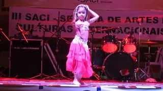 Dida Dança do Ventre Infantil - III SACI Búzios 2014