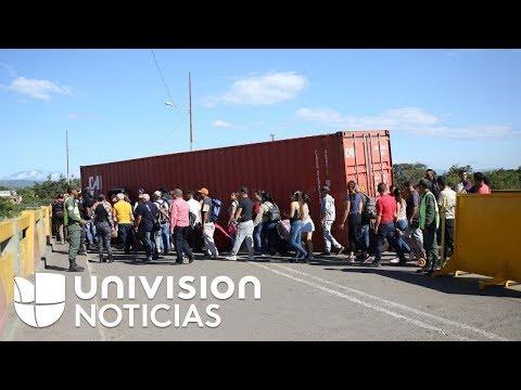 Nicolás Maduro ordena la reapertura peatonal de la frontera entre Venezuela y Colombia