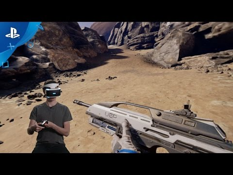 Farpoint - DS4 Setup and Demo | PS VR