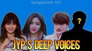 JYP's Deep Voices [2PM, Wonder Girls, GOT7, TWICE, Stray Kids, ITZY]