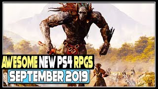 5 Awesome New Ps4 Rpgs Coming In September 2019  Upcoming Games 2019