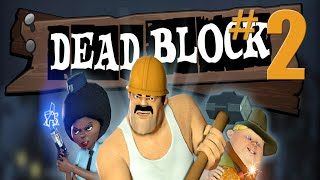 Dead Block Walkthrough Part 2: Diner - No Commentary Gameplay - (Xbox 360/PS3/PC)
