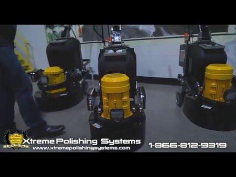 NEW Industrial/ Commercial Floor Grinding Machine (Peanut Mammoth Grinder)