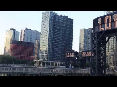 View of Manhattan & 59th Street Bridge & Long Island City.HD