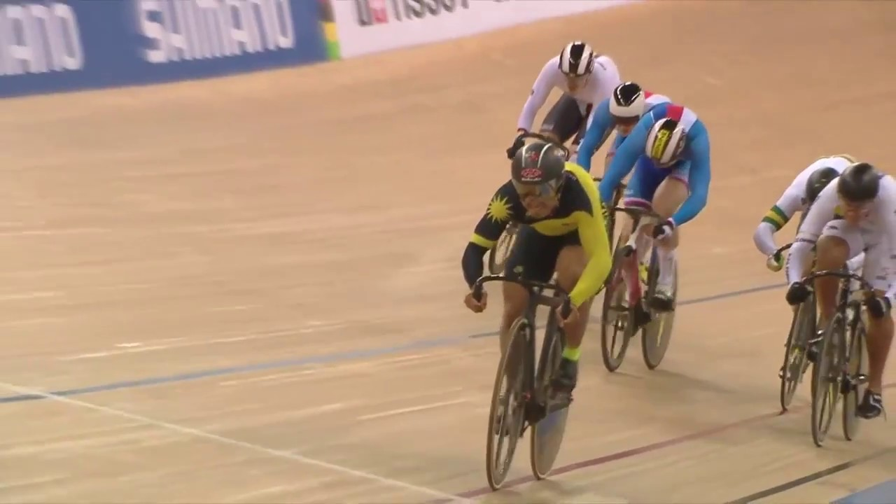 2017 UCI Track Cycling World Championships - Men's Keirin - Final 1-6