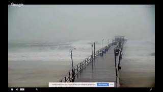 *LIVE* Cam at Oceanana Pier @Atlantic Beach, NC Current Conditions - #HurricaneFlorence