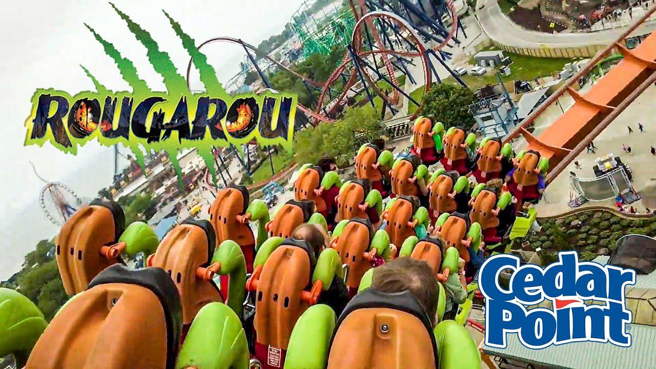 2019 June Rougarou Roller Coaster On Ride HD POV Cedar Point