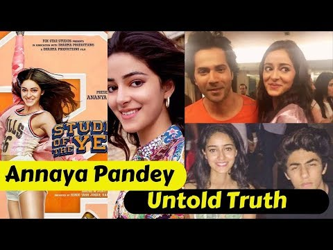 Untold Truth of Ananya Pandey | Student of The Year 2 | Ananya Pandey Unknown Facts Mp3