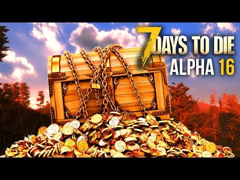 TREASURE HUNTER ★ 7 Days To Die (Alpha 16, Ep.17)