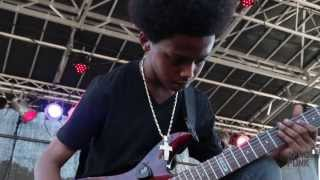 "Unlocking The Truth performs ""Free As You Wanna Be"" at AFROPUNK FEST 2013"