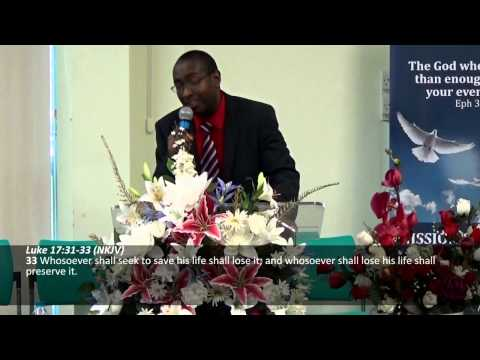 El Shaddai 15.02.15 - Minister Curtis Roach - Stop Playing Church