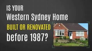Removing Asbestos Western Sydney