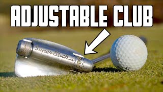 Playing Golf With an Adjustable Club (Every Club in 1) | GM GOLF
