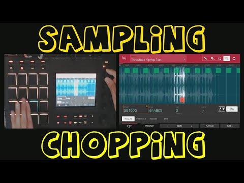 AKAI MPC TOUCH & 2.2 Software Sampling & Chopping