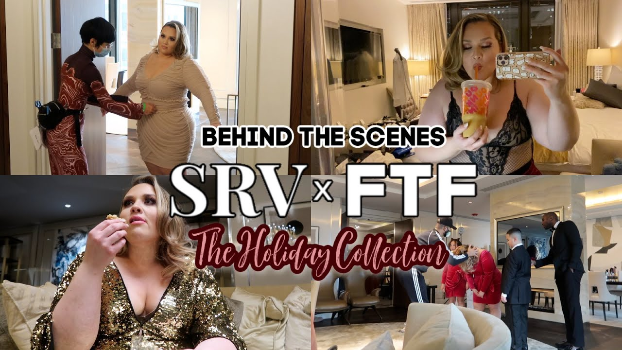 Behind The Scenes of my NEW COLLECTION! SRVxFTF  #424 |Sarah Rae Vlogas|