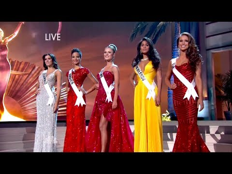 MISS UNIVERSE 2018 MAY PREDICCIONS TOP 5