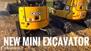 New John Deere mini excavators