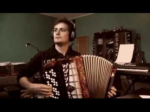 Музыка из мультфильмов на баяне