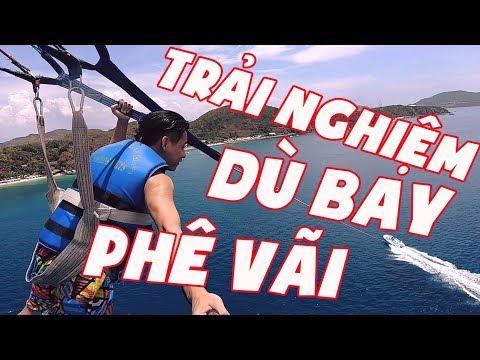 MixiVLOG#3:Trải nghiệm lần đầu đi dù bay ở Nha Trang.