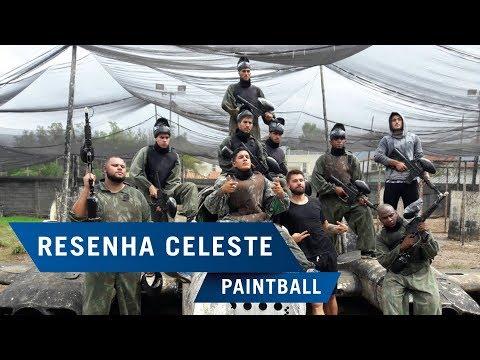 Resenha Celeste: Elenco Cruzeirense em um dia de Paintball